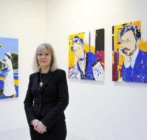 Carola Paschold – Pop-Art-Portraits im XXL- Format –