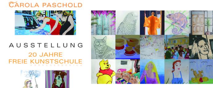 Best Of – Ausstellung – 20 Jahre Freie Kunstschule Carola Paschold
