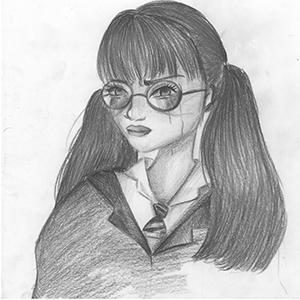 Jugendliche – Zeichnung