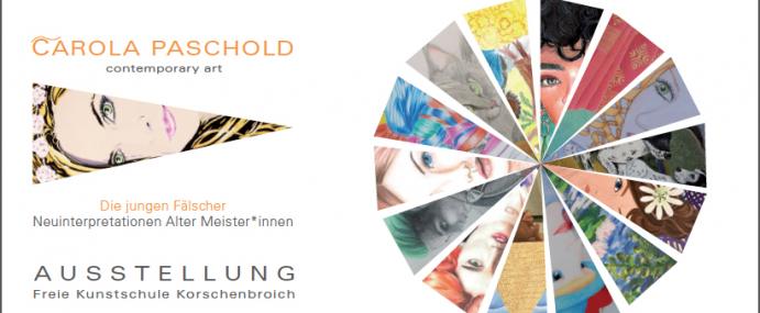 EINLADUNG – Die jungen Fälscher – Neuinterpretationen Alter Meister*innen
